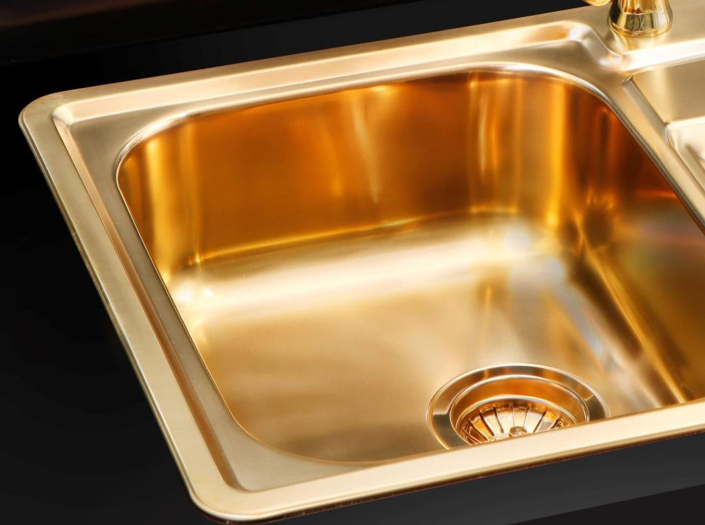 Alveus Monarch Line 20 Bronze, inset sink