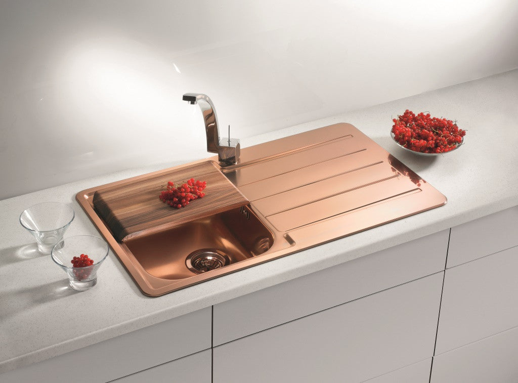 Alveus Monarch Line 20 Copper, inset sink