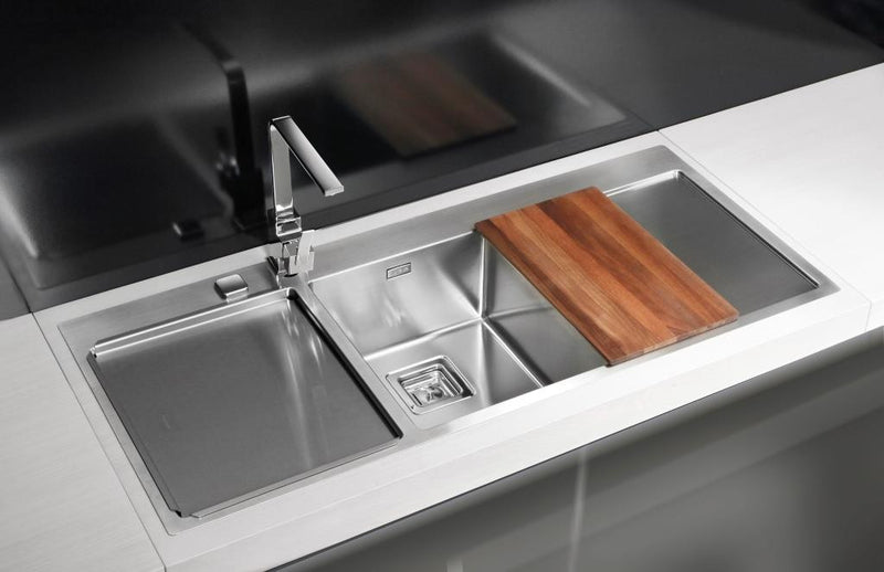 Alveus Stylux 70, flush or flat-mount sink