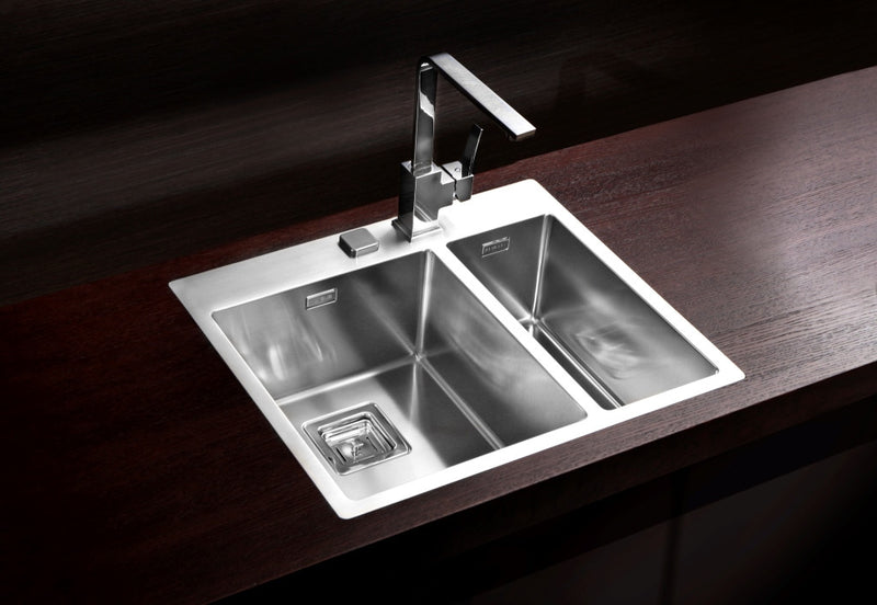 Alveus Stylux 20, flush or flat-mount sink