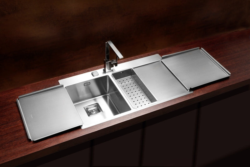 Alveus Stylux 60, flush or flat-mount sink