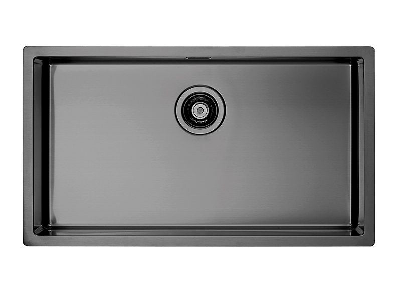 Alveus Monarch Quadrix 60 Anthracite, flush/slim/undermount sink