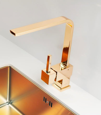 Alveus Monarch Laguna Bronze, kitchen mixer tap