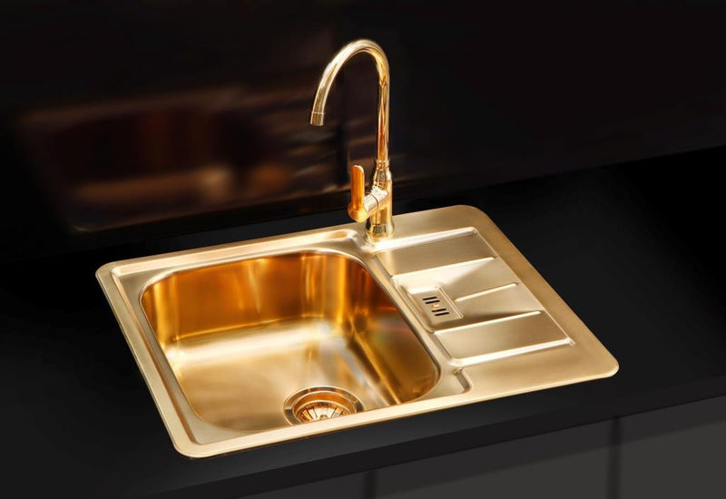 Alveus Monarch Line 60 Bronze, inset sink