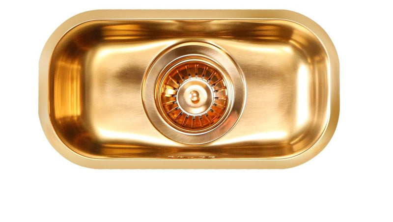 Alveus Monarch Variant 110 Bronze, undermount sink