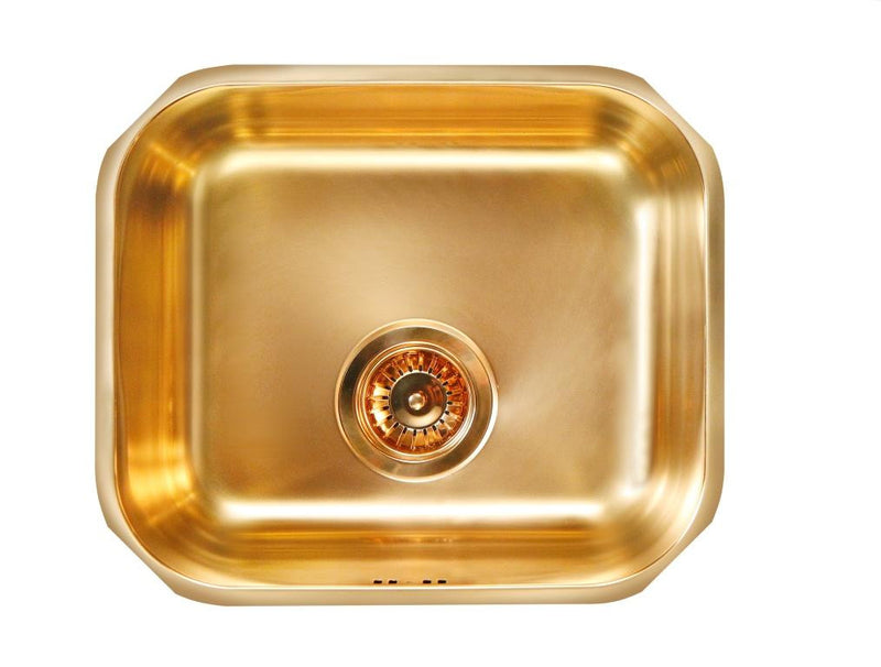 Alveus Monarch Variant 40 Bronze, undermount sink