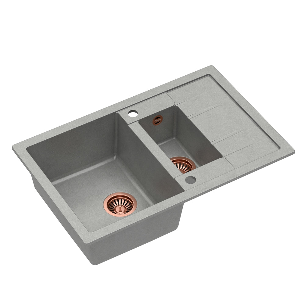 Quadron Morgan 156 Grey kitchen sink, Mix and Match