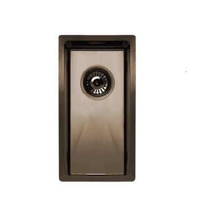 Nivito Cube 180 Copper, top-mount or under-mount sink