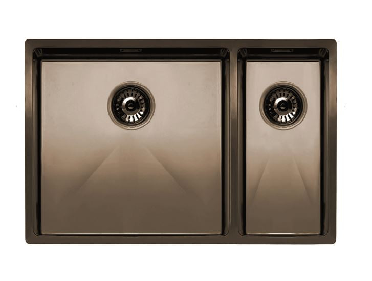 Nivito Cube 500-180 Copper, top-mount or under-mount sink