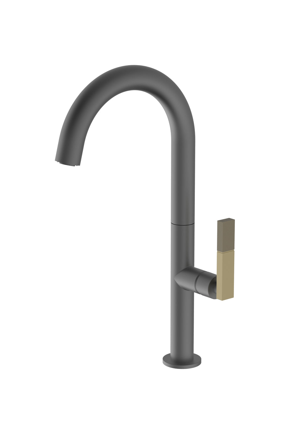 Forte Anthracite Mix and Match, kitchen mixer tap