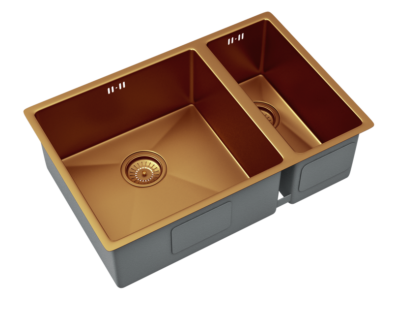 Nano 1.5 Bowl Copper Topmount or Undermount kitchen sink