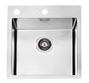 Alveus Pure 20, flush or flat-mount sink