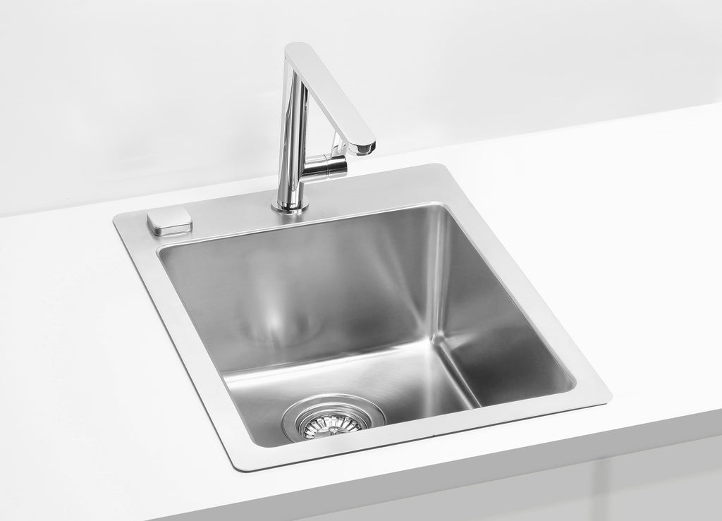 Alveus Pure 10, flush or flat-mount sink