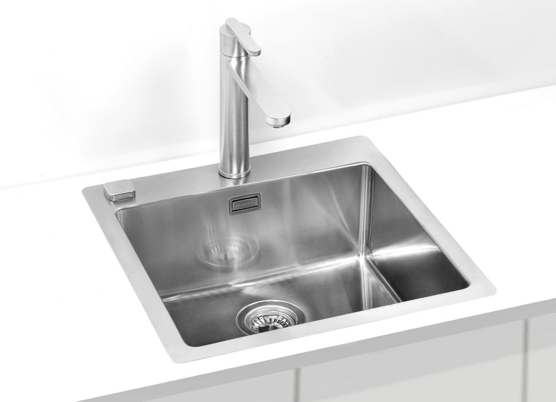 Alveus Pure 30, flush or flat-mount sink