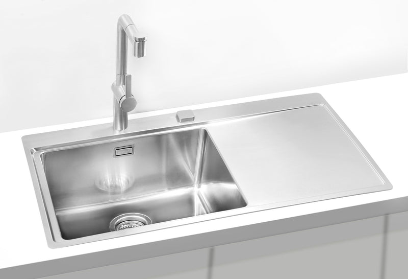 Alveus Pure 50, flush or flat-mount sink