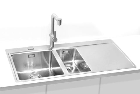 Alveus Pure 60, flush or flat-mount sink