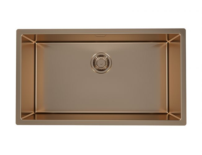 Alveus Monarch Quadrix 60 Copper, topmount/undermount sink