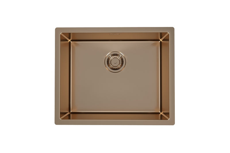 Alveus Monarch Quadrix 50 Copper, flush/slim/undermount sink