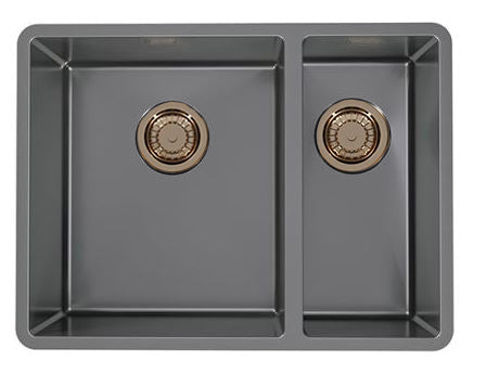 Alveus Monarch Quadrix 120 Anthracite MIX & MATCH sink