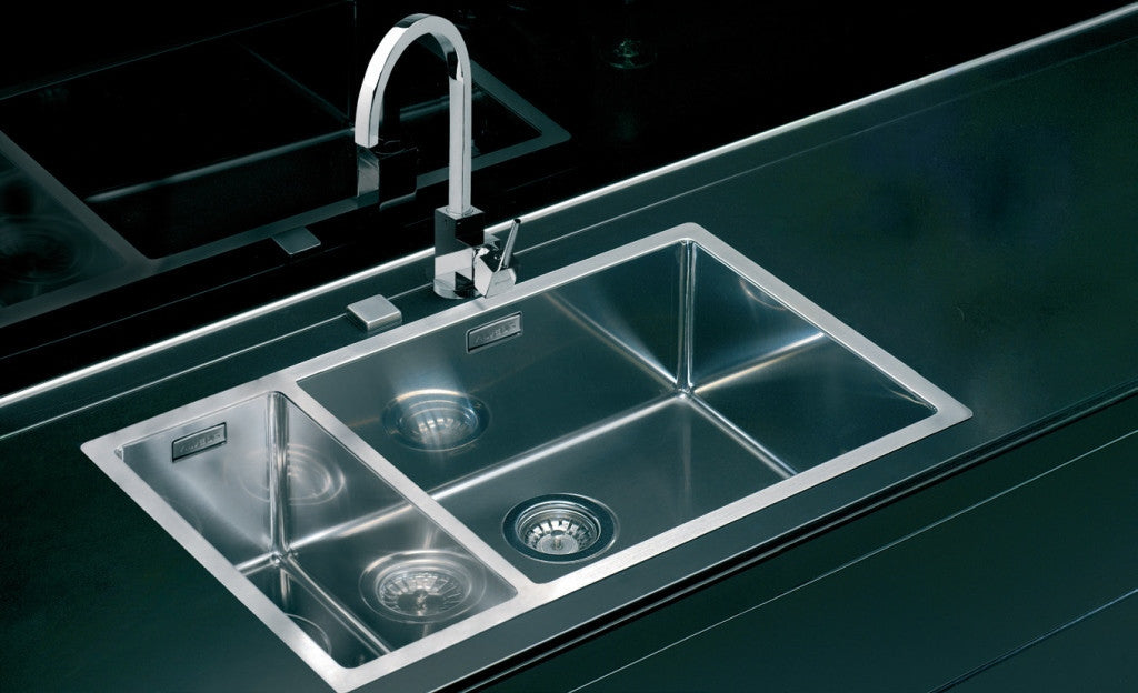 Alveus Quadrix 150, flush or flat-mount sink