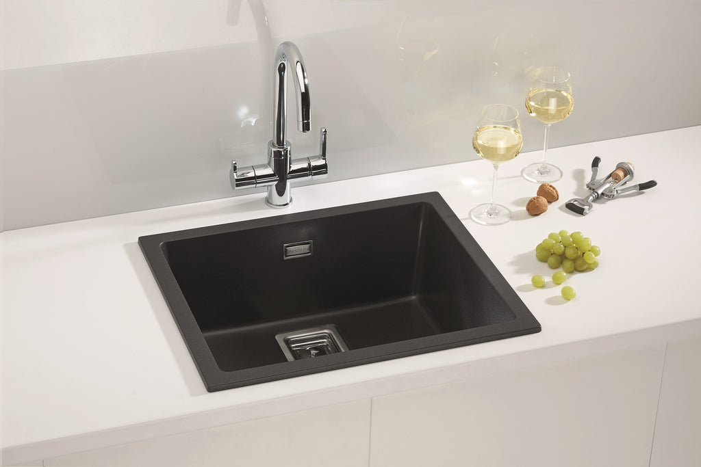 Alveus Quadrix 50 Granital, topmount or undermount sink