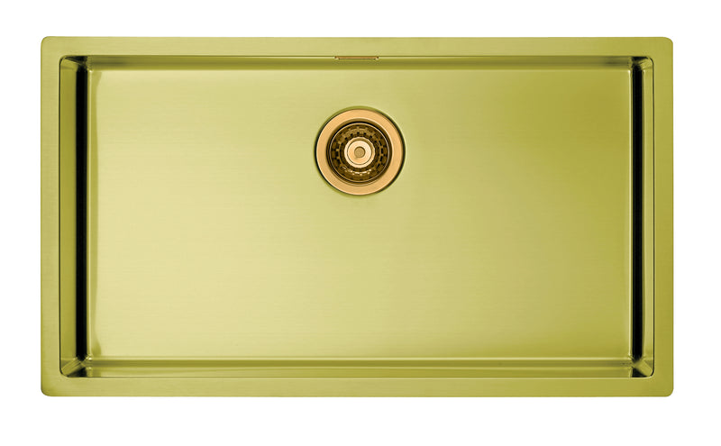 Alveus Monarch Quadrix 60 Gold MIX & MATCH sink