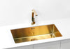 Alveus Monarch Quadrix 60 Bronze, flush/slim/undermount sink