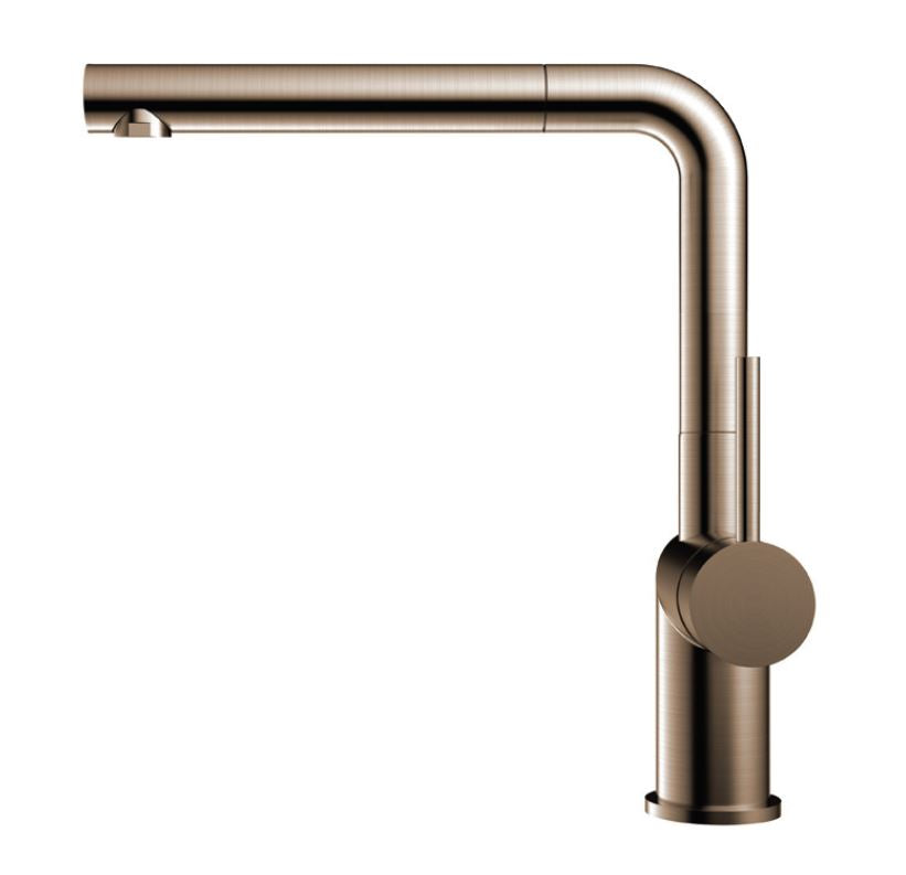 Nivito RH-650 EX Brushed Copper, pull-out kitchen mixer tap