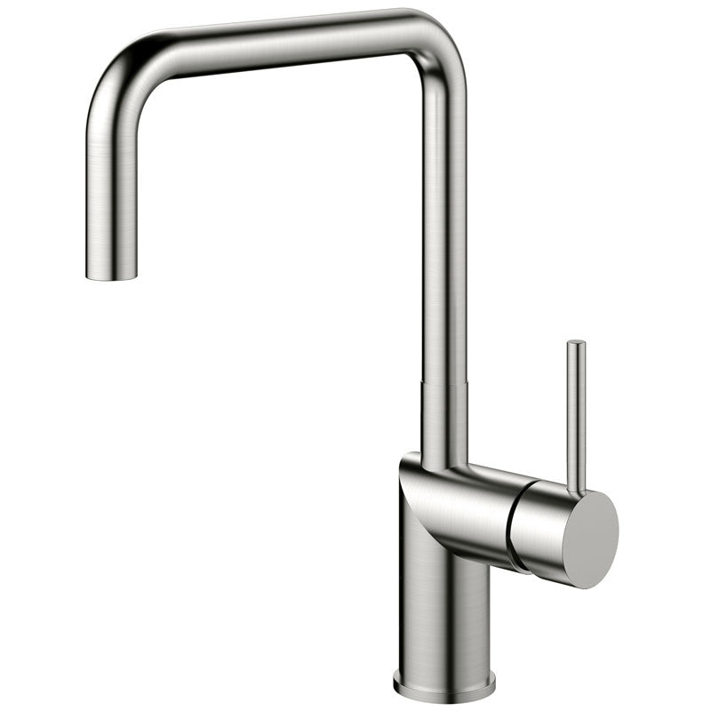 Nivito RH-300 Brushed Steel, kitchen mixer tap - A factory Second (50% Discount) Tap A