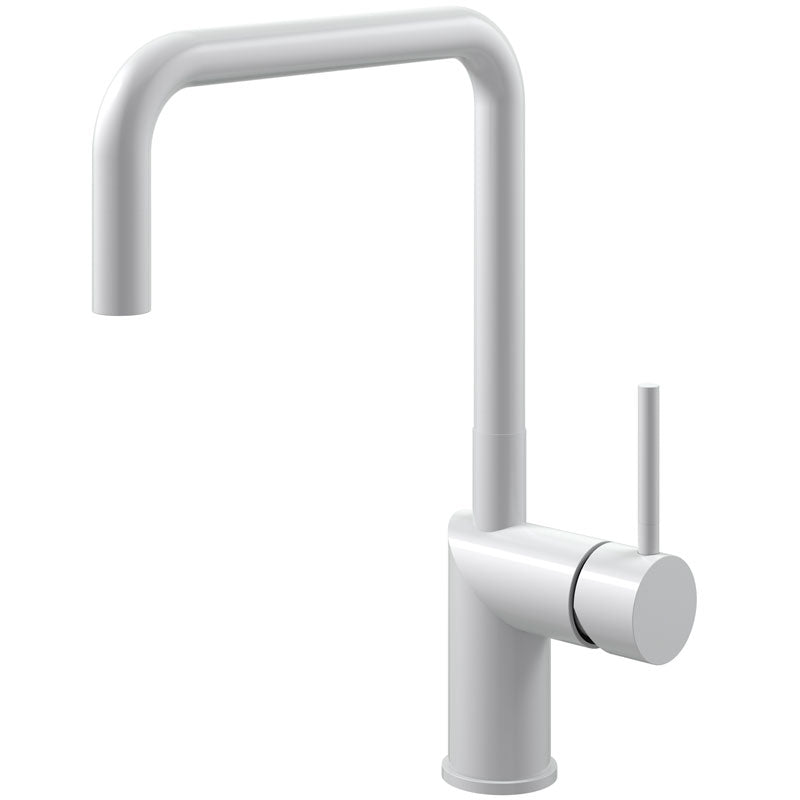 Nivito RH-330 Matte White, kitchen mixer tap