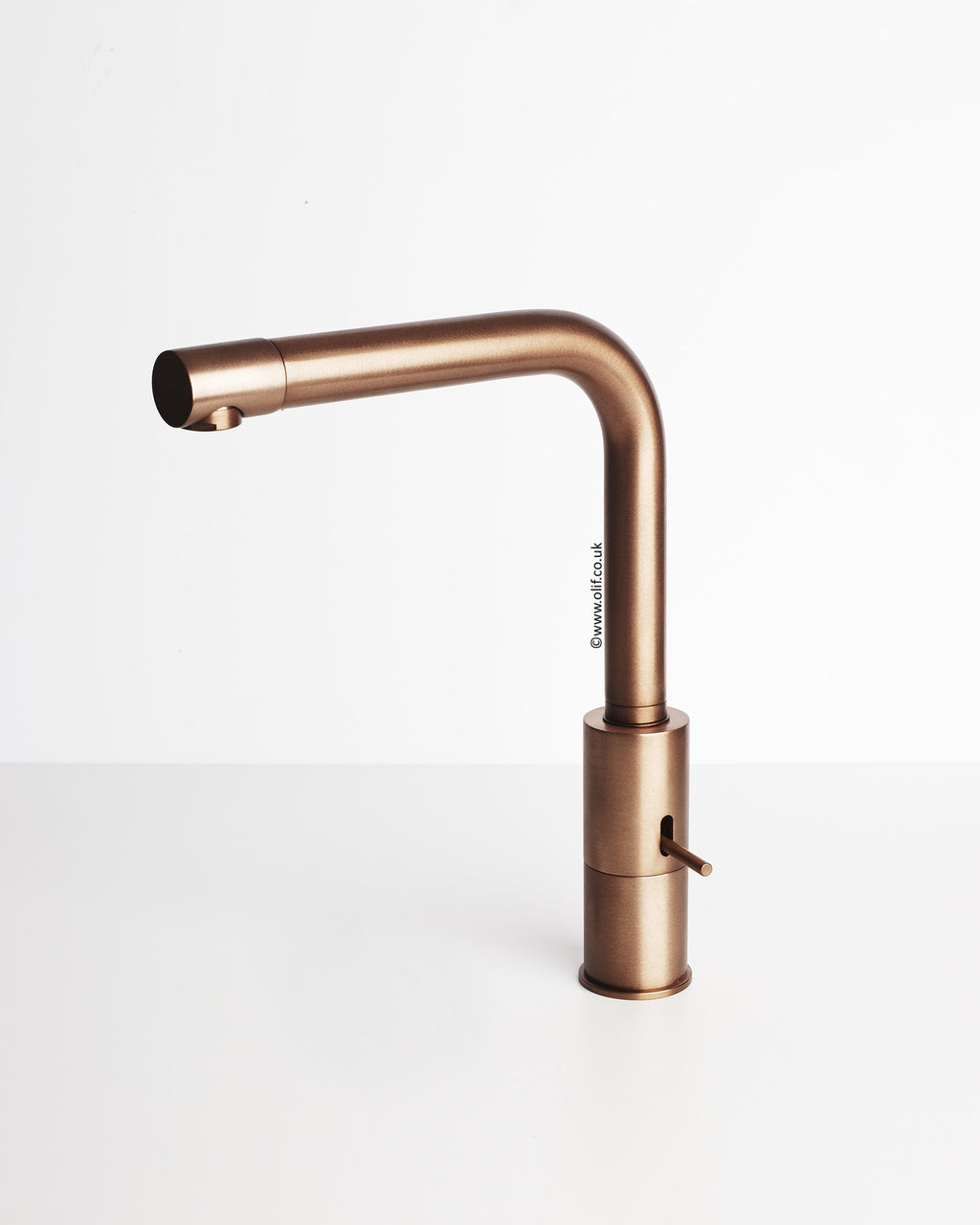 Splendido Brushed Copper, kitchen mixer tap