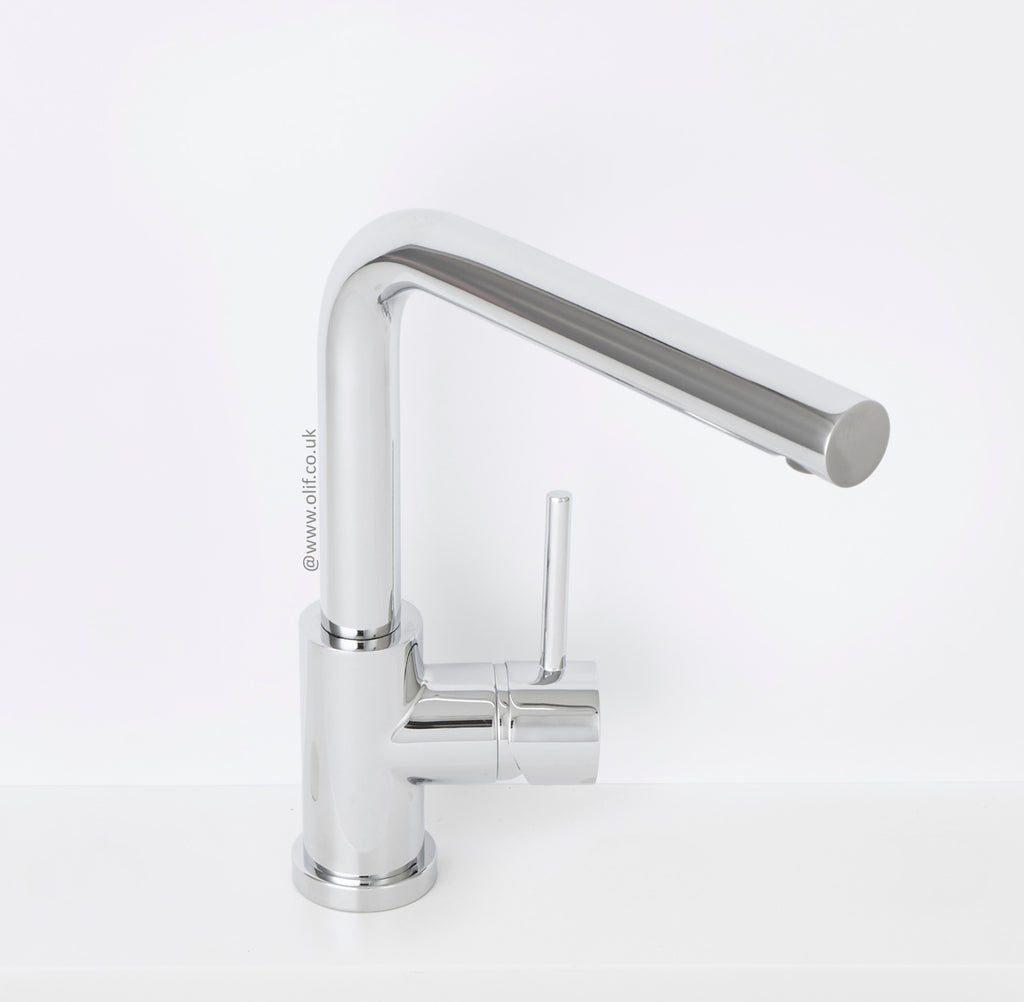 Alveus Toro Chrome, kitchen mixer tap
