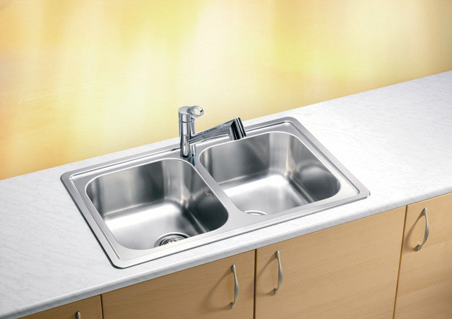 Alveus Elegant 40, inset sink, satin finish