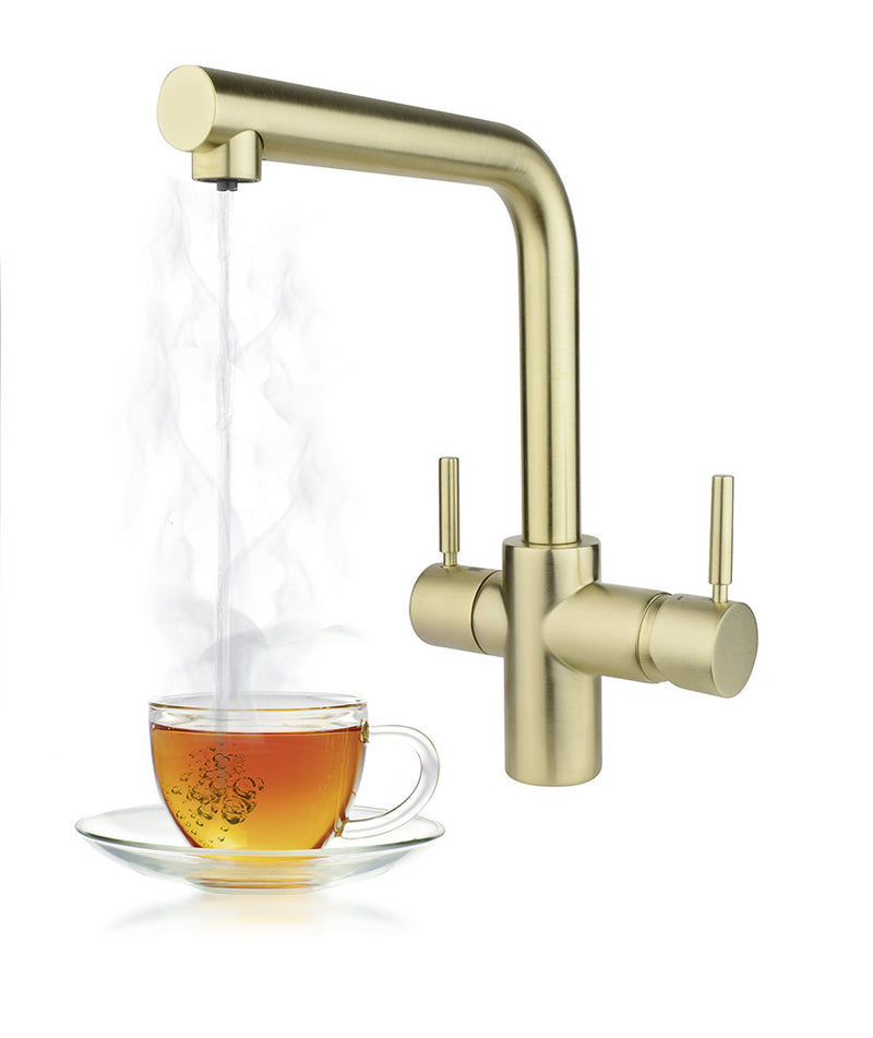 InSinkErator 3n1 Steaming Hot Water tap Gold (contact us for price)