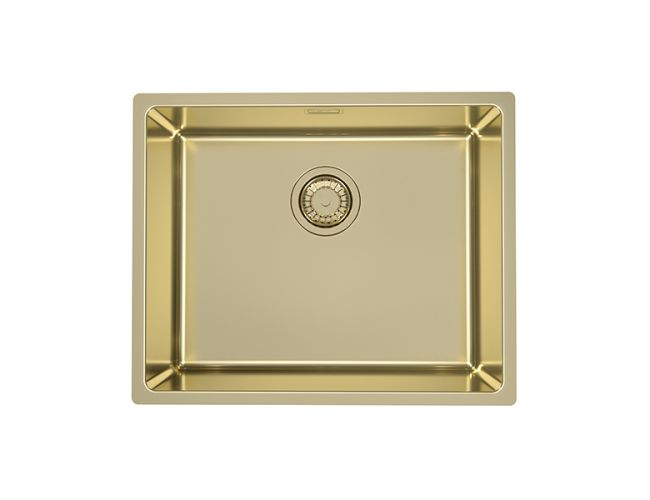 Alveus Monarch Kombino 50 Gold, topmount/undermount sink