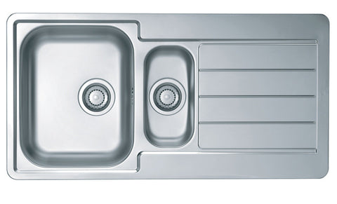 Alveus Line 10, inset sink, satin finish