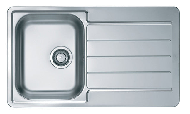 Alveus Line 20, inset sink, satin finish