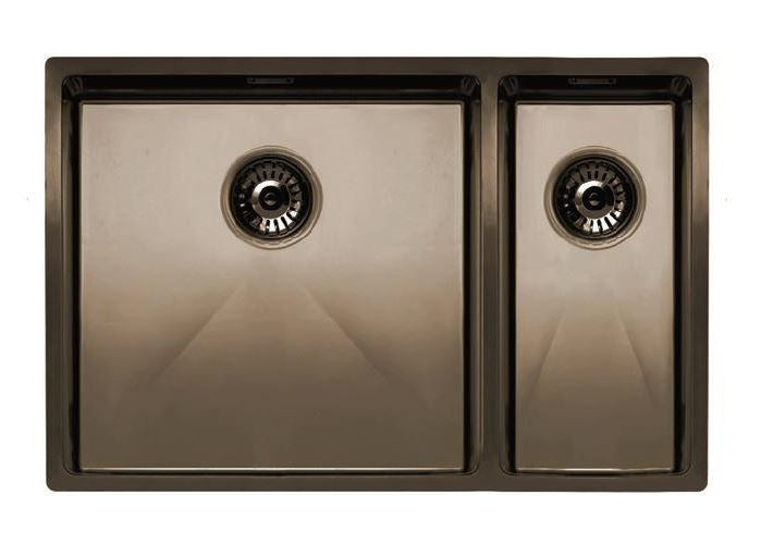 Nivito Cube 500-180 Copper, top-mount or under-mount sink-A FACTORY SECOND (60% DISCOUNT), B