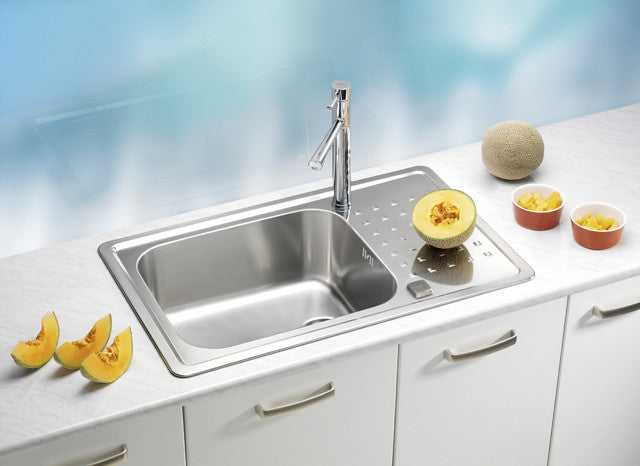 Alveus Praktik 40, inset sink, satin finish