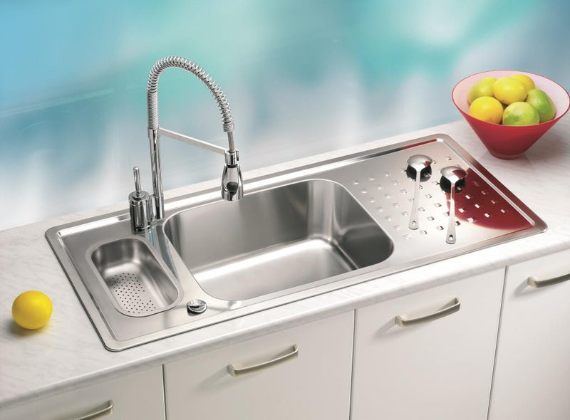 Alveus Praktik 70, inset sink, satin finish