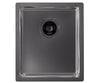 Alveus Monarch Quadrix 20 Anthracite, flush/slim/undermount sink
