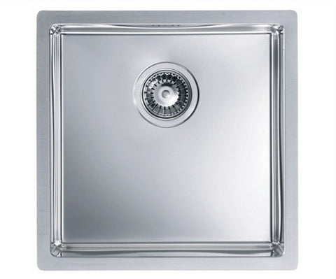 Alveus Quadrix 30, flush/flat or undermount sink