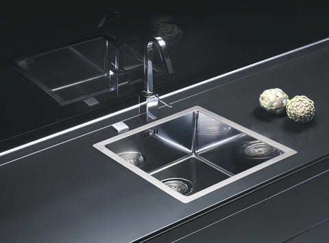 Alveus Quadrix 40, flush/flat or undermount-mount sink