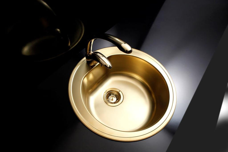 Alveus Monarch Form 30 Gold, inset sink