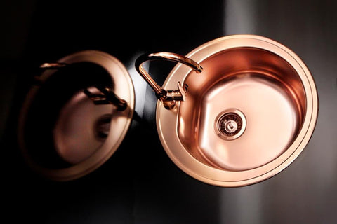 Alveus Monarch Form 30 Copper, inset sink