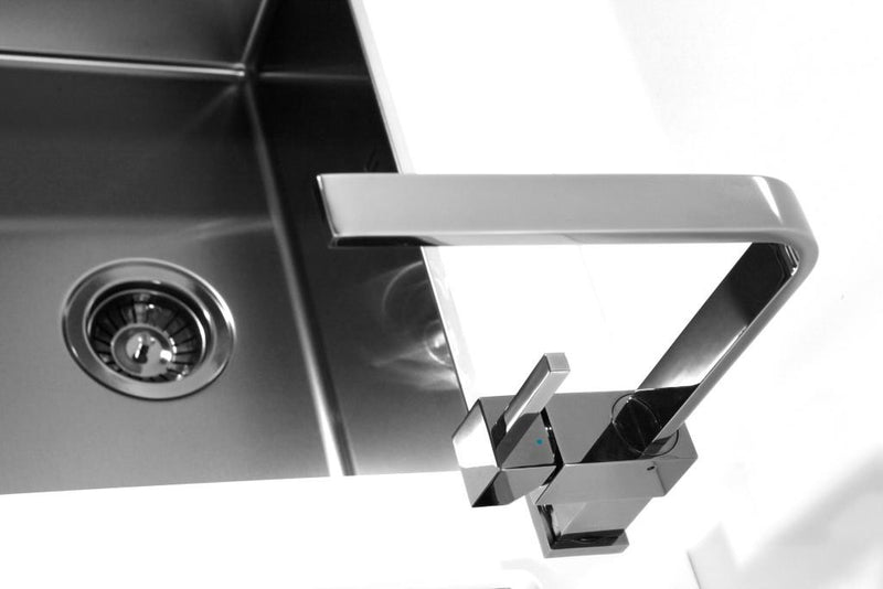 Alveus Monarch Quadrix 30 Anthracite, flush/slim/undermount sink