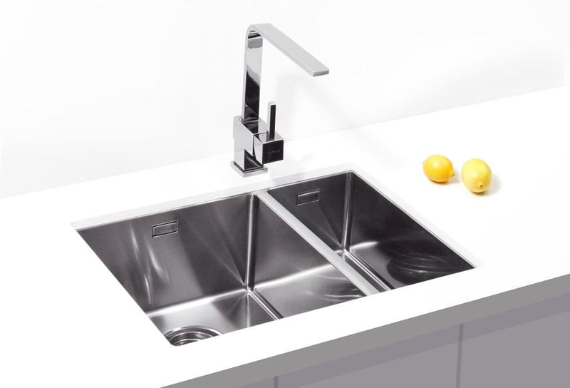 Alveus Monarch Quadrix 120 Anthracite, undermount sink