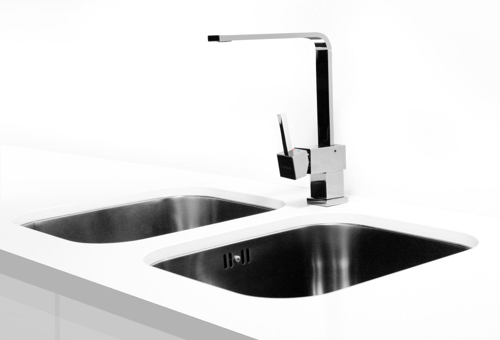 Alveus Monarch Variant 10 Anthracite Undermount Sink Olif