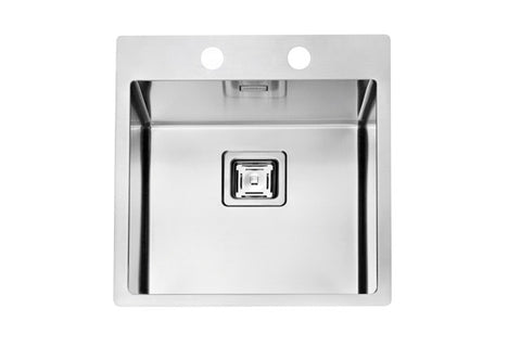 Alveus Stylux 10, flush or flat-mount sink