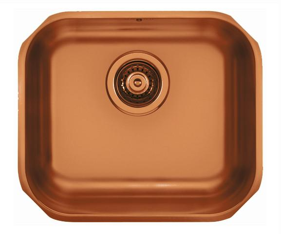 Pack of Alveus Monarch Variant 40 Copper sink and matching Copper tap